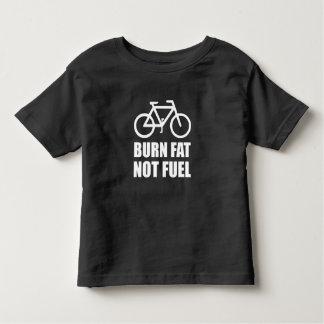 Burn Fat Not Fuel Bike Toddler T-shirt