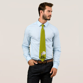 Burn Fat Not Oil Panda Bear Change colors Tie