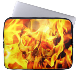 Burn Laptop Computer Sleeves