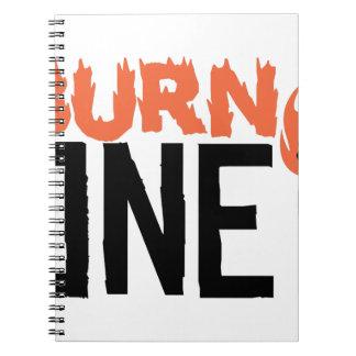 Burn One Spiral Notebook