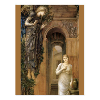 Burne-Jones Annunciation CC0423 Angel Postcard