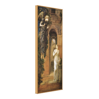 Burne-Jones Annunciation CC0435 Angel Canvas Print