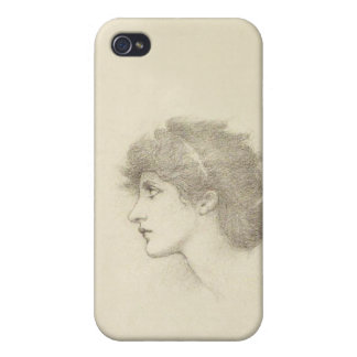 Burne-Jones Sketch iPhone Case Covers For iPhone 4