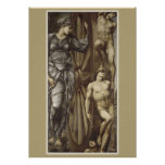 Burne-Jones Wheel of Fortune CC0183 Poster