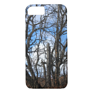 Burned Fence Post Butte Fire iPhone Case