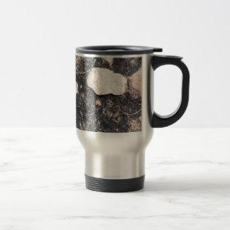 Burned Grass Travel Mug