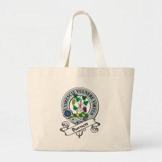 Burnett Clan Badge Jumbo Tote Bag