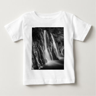 Burney Falls in Black and White Baby T-Shirt
