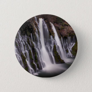 Burney Falls in Color 2 Inch Round Button