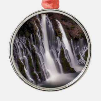 Burney Falls in Color Metal Ornament