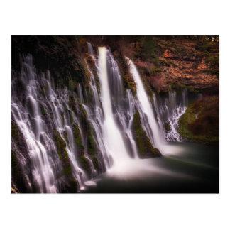 Burney Falls in Color Postcard