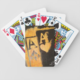 Burnig Aces Bicycle Playing Cards