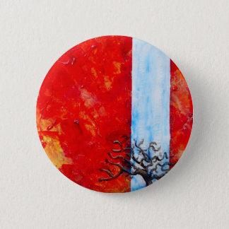 Burning Bush 2 Inch Round Button