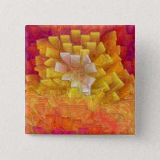 Burning Bush 2 Inch Square Button