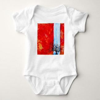 Burning Bush Baby Bodysuit