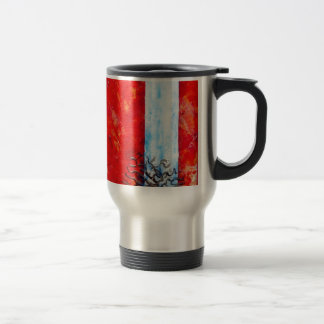 Burning Bush Travel Mug