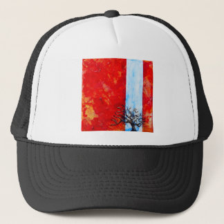 Burning Bush Trucker Hat