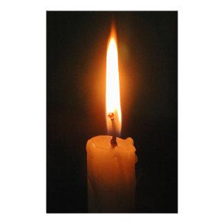 Burning Candle Stationery Design