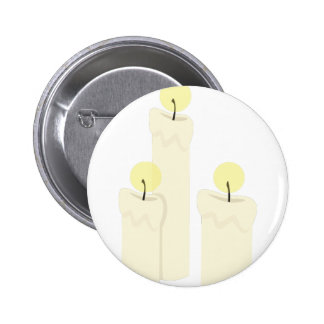 Burning Candles 2 Inch Round Button