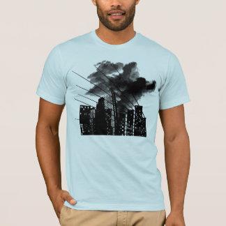 Burning city T-Shirt
