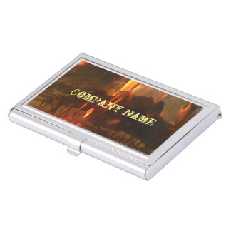 Burning Coals Case For Business Cards