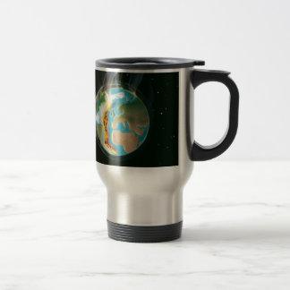 Burning Earth Travel Mug
