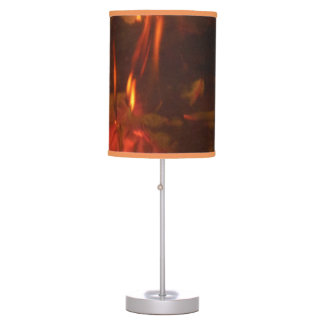 Burning Fire Table Lamp
