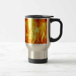 Burning Fire Travel Mug