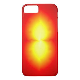 Burning flame, modern digital art iPhone 7 case