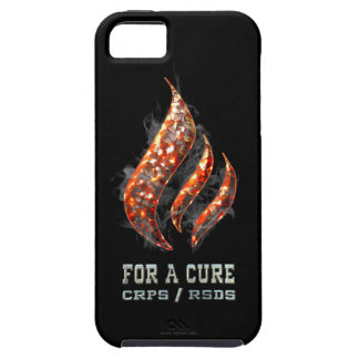 Burning for a Cure iPhone 5 Cover