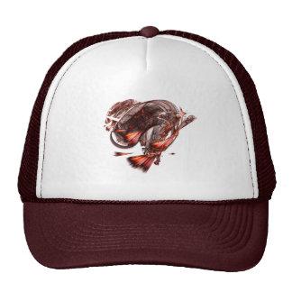 Burning Heart cap Hats