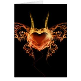 Burning Heart Cards