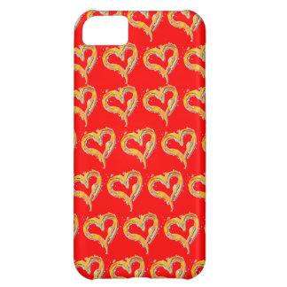 Burning Heart iPhone 5C Case