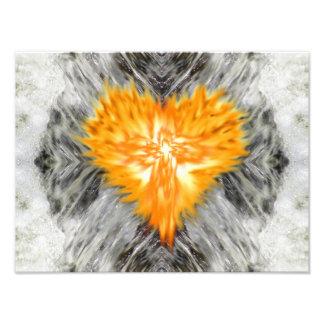 Burning Heart II - Wellspring Photo Print