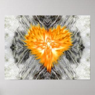 Burning Heart II - Wellspring Poster