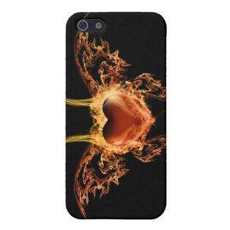 Burning Heart iPhone 5/5S Covers