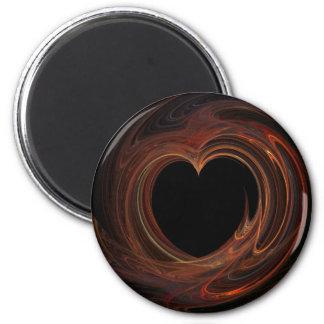 Burning Heart on Magnet