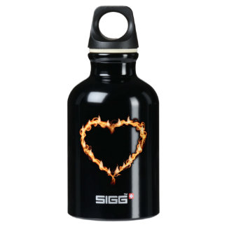 Burning Heart (Red Background) SIGG Traveler 0.3L Water Bottle