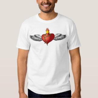 Burning Heart T-shirts