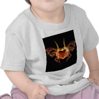 Burning Heart Tshirt