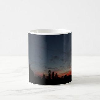 Burning Low Sunset Coffee Mug
