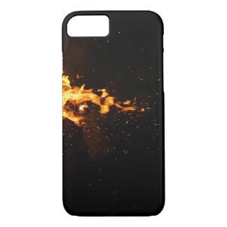 Burning M iphone 8/7 cover