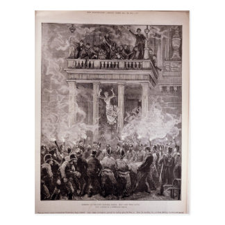 Burning of the Ring Theatre, Vienna Postcard