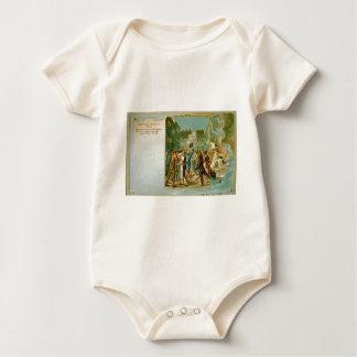 Burning of the Stamp Act in Boston Massachusetts Baby Bodysuit