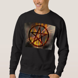 Burning Pentagram Sweatshirt