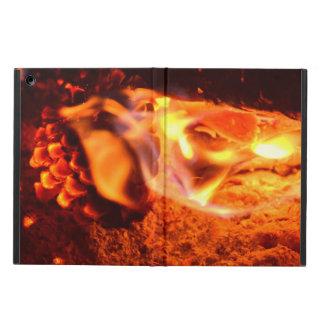 Burning Pine Cone iPad Air Cases