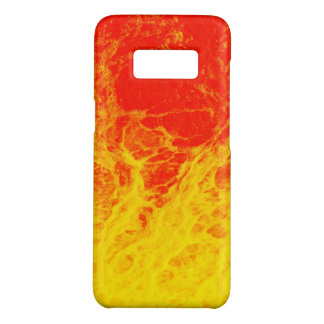 Burning red and yellow fire Case-Mate samsung galaxy s8 case