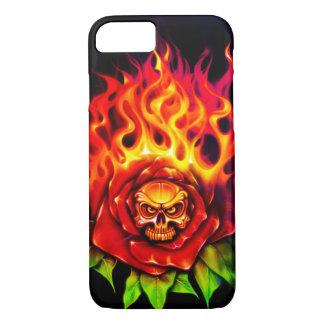 Burning Rose - iPhone 7 Case