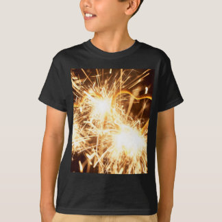 Burning sparkler in form of a heart T-Shirt