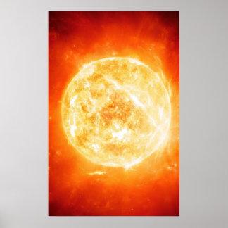 Burning Sun Poster
